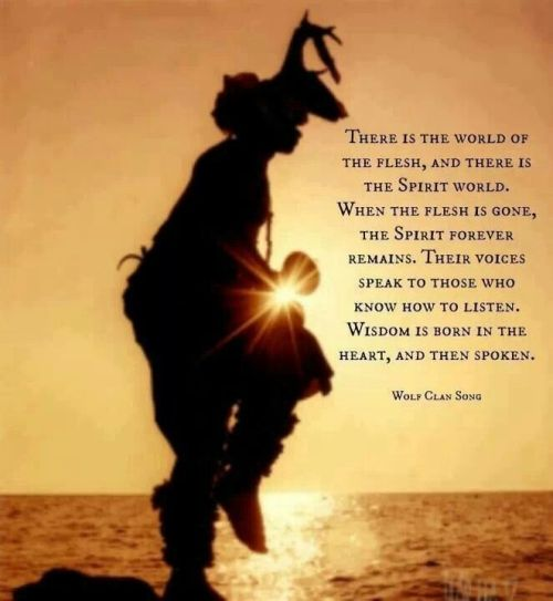 Native American Dancer & Wolf Clan Song/Photo Credit Unknown