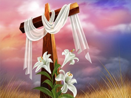 Easter Lily and The Cross, A Symbol of Death and Rebirth