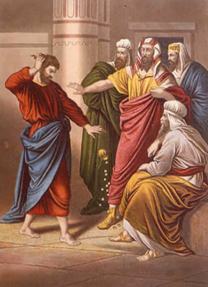 Judas Repents But is Rejected