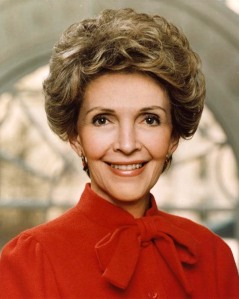 Nancy Reagan  White House, Dec 1982
