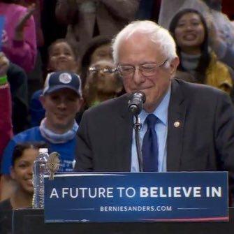 """Sen. Bernie Sanders & """"Birdie"""" Sanders"""