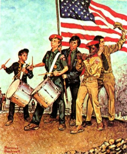 Norman Rockwell's Spirit of '76